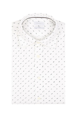 Chemise manches longues ESPRIT 038EE2F021 Blanc