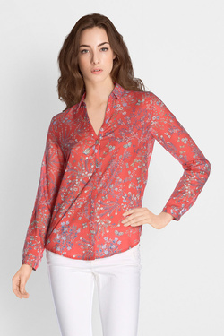 Chemise manches longues ESPRIT 028EE1F011 Rouge