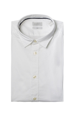 Chemise manches longues ESPRIT 998EE2F800 Blanc