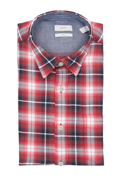 Chemise manches longues ESPRIT 109EE2F001 Rouge