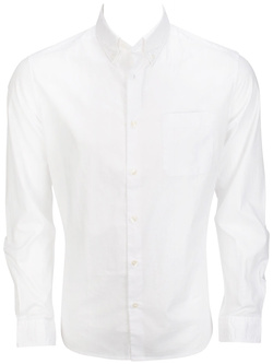 ESPRIT Chemise manches longues blanc 025EE2F020