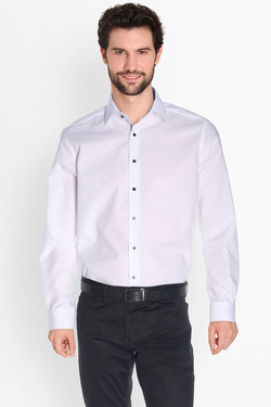 Chemise manches longues ETERNA X15P 8500 Blanc