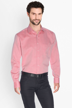 Chemise manches longues ETERNA X19P 4393 Rouge