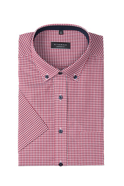 Chemise manches courtes ETERNA X143 8913 Rouge