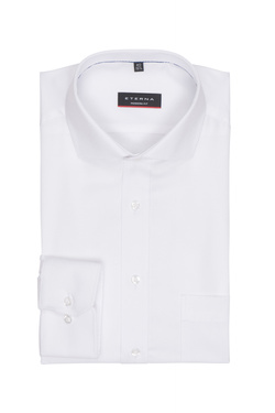 Chemise manches longues ETERNA X182 4194 Blanc