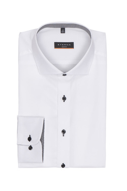 Chemise manches longues ETERNA F142 8424 Blanc