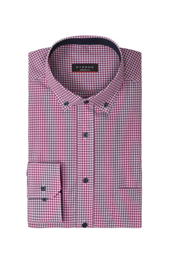 Chemise manches longues ETERNA X143 8913 Rose