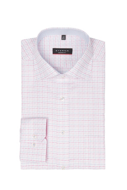 Chemise manches longues ETERNA X157 3524 Rose
