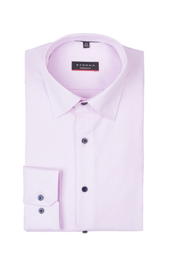 Chemise manches longues ETERNA X17X 3063 Rose