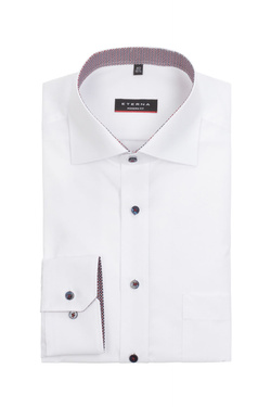 Chemise manches longues ETERNA X37R 8500 Blanc