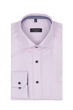 Chemise manches longues ETERNA E95K 3116 Rose