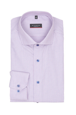 Chemise manches longues ETERNA X17V 3217 Rose