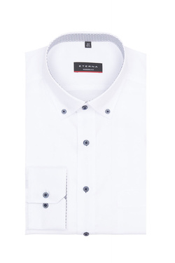 Chemise manches longues ETERNA X143 8100 Blanc