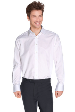 Chemise manches longues ETERNA 4720 X64P Blanc