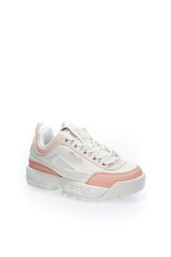 Chaussures FILA DISRUPTOR CB LOW Rose
