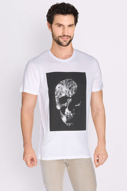 Tee-shirt FREEMAN T PORTER 17124317/CO27 Blanc