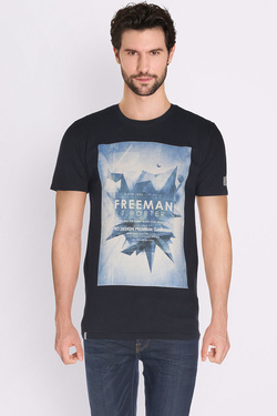 Tee-shirt FREEMAN T PORTER 17124321/CO27 Noir