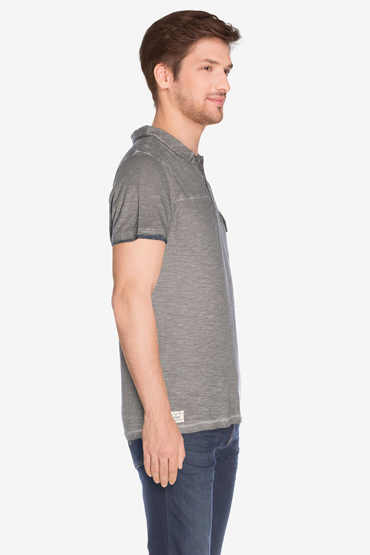Freeman t porter polo 17124311 co27 gris homme des for Freeman t porter homme