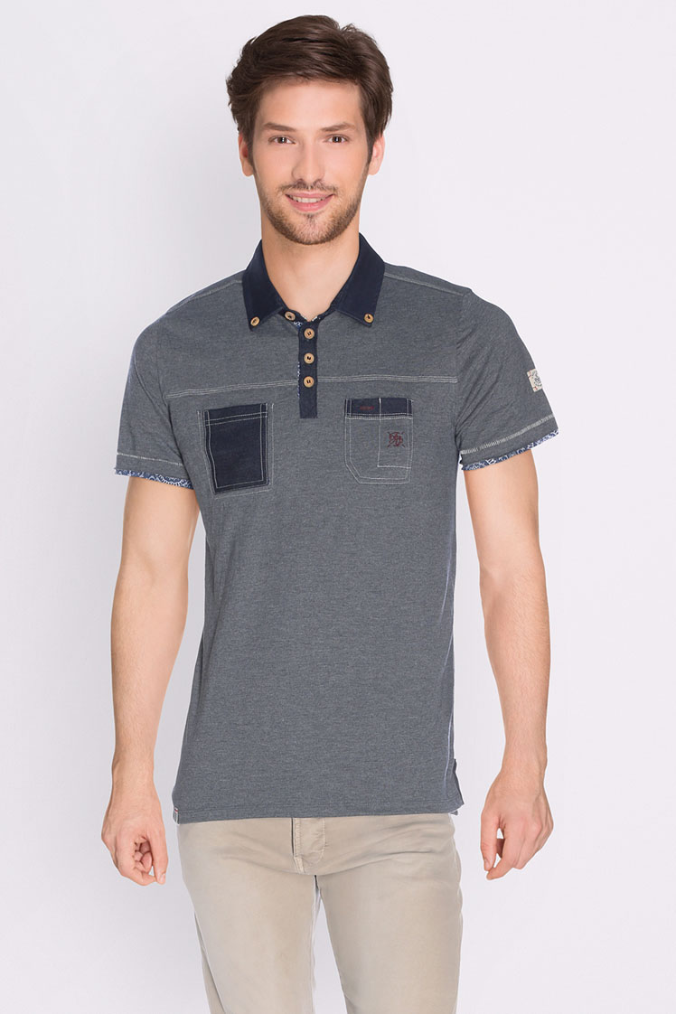 Freeman t porter polo 17124312 copes80 gris homme des for Freeman t porter homme
