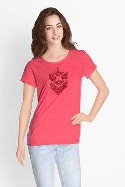 Tee-shirt FREEMAN T PORTER 18124387/CO27 Rose