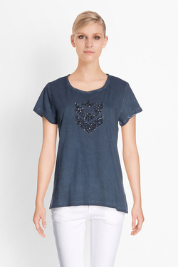 Tee-shirt FREEMAN T PORTER 18124387/CO27 Bleu noir