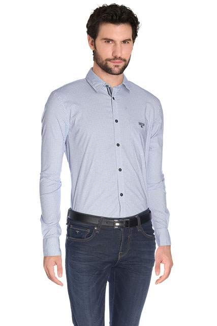 CHEMISE MANCHES LONGUES MOTIFS COLORES GAASTRA