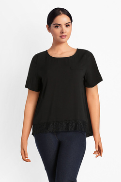 Blouse GABRIELLE BY MOLLY BRACKEN GG75A18 Noir