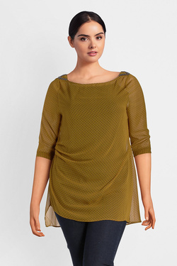 Blouse GABRIELLE BY MOLLY BRACKEN PP02AA18 Jaune moutarde