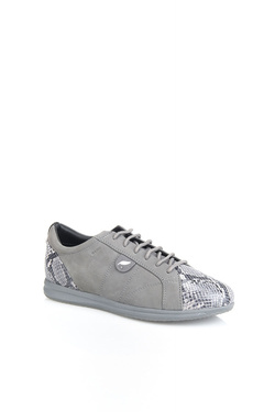 Chaussures GEOX D52H5A03241C9002 AVERY DK GREY Gris