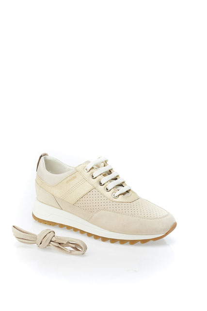 chaussure moutarde femme geox