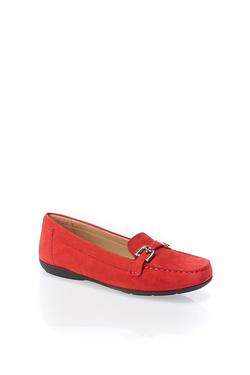 Chaussures GEOX D ANNYTAH MOC Rouge