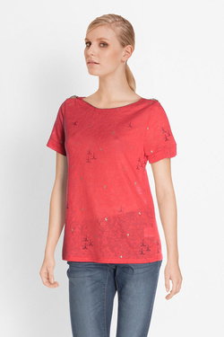 Tee-shirt GRACE ET MILA PARIS Rouge