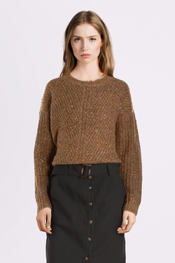 Pull GRACE ET MILA TIMBALE Camel