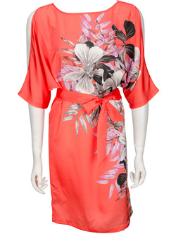 GUESS BY MARCIANO Robe ample avec ceinture corail 52W777 7654Z