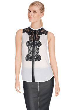 GUESS BY MARCIANO - Blouse63G402 8029ZEcru