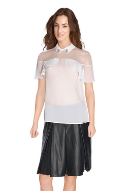 GUESS BY MARCIANO - Blouse63G411 8029ZEcru