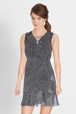 Robe GUESS W72K85W8GD0 Noir
