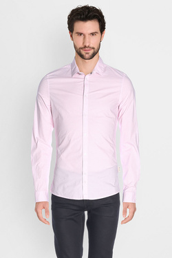 Chemise manches longues GUESS M72H47 W7VX0 Rose
