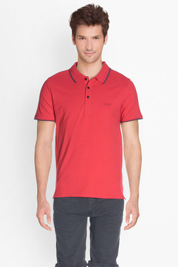 Polo GUESS M73P48 K4KV0 Rouge