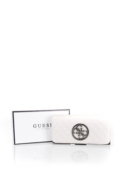 Portefeuille GUESS SWVM66 23590 Blanc