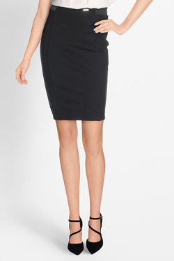 Jupe GUESS W81D04K6N80 DOMINIQUE SKIRT Noir