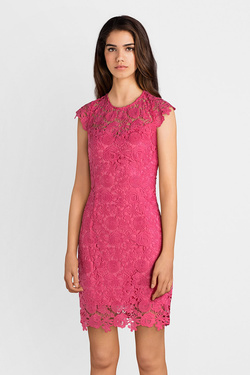 Robe GUESS W82K13W9X90 JOYA DRESS Rose fuchsia