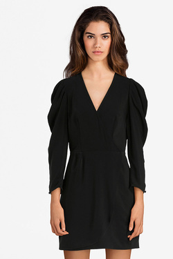 Robe GUESS W82K12W9X70 RACHEL DRESS Noir