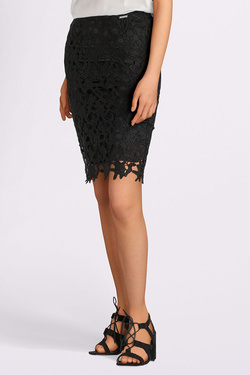 Jupe GUESS W82D29W9XH0 MADELINE SKIRT Noir