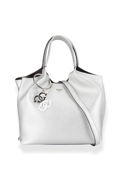 Sac GUESS HWME68 65060 FLORA SHOPPER Gris