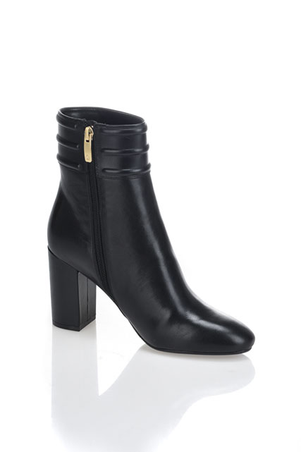 Boot zippée en cuir GUESS
