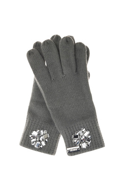 Gant GUESS NOT COORDINATED GLOVES Gris