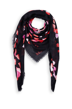 Foulard GUESS NOT COORDINATED KEFIAH 130X130 Noir