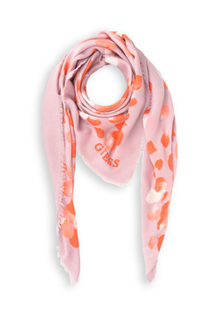 Foulard GUESS NOT COORDINATED KEFIAH 130X130 Rose