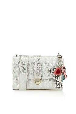 Sac GUESS TABBI SHOULDER BAG Gris